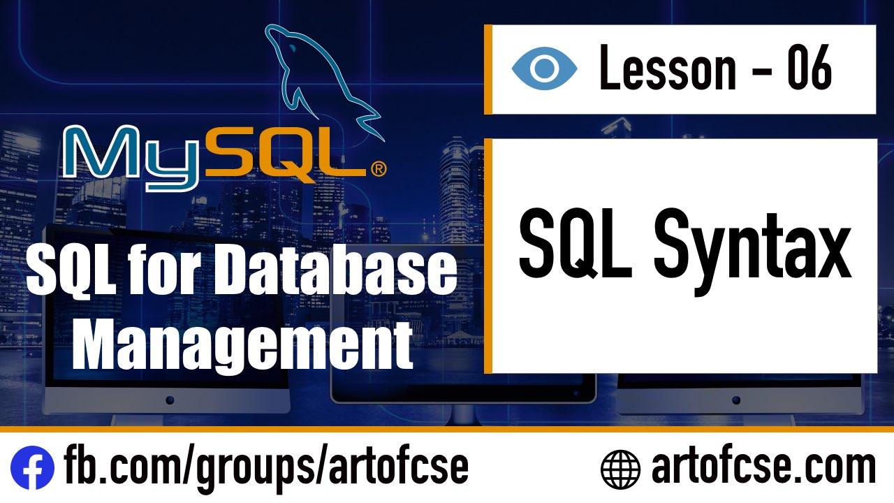 Database এ কুয়েরি লিখার জন্য কিভাবে SQL ব্যবহার করতে হয়