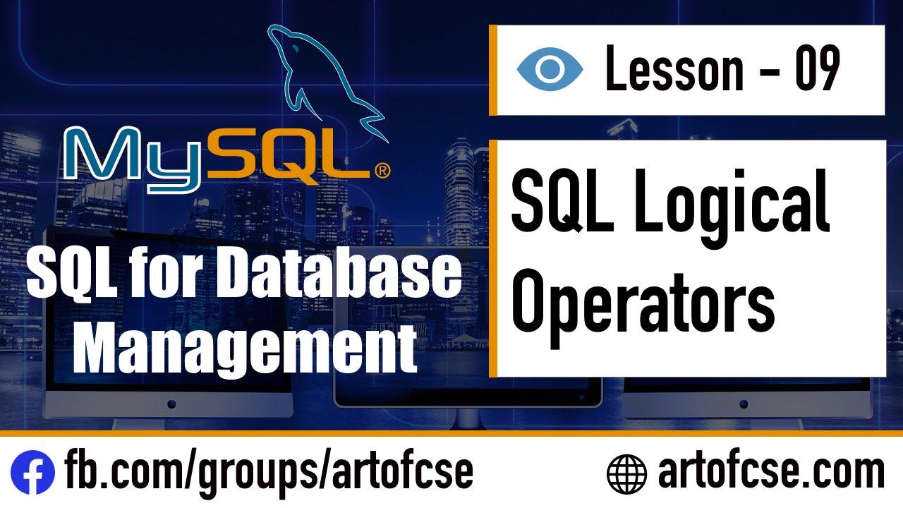 SQL Logical Operators এর ব্যবহার