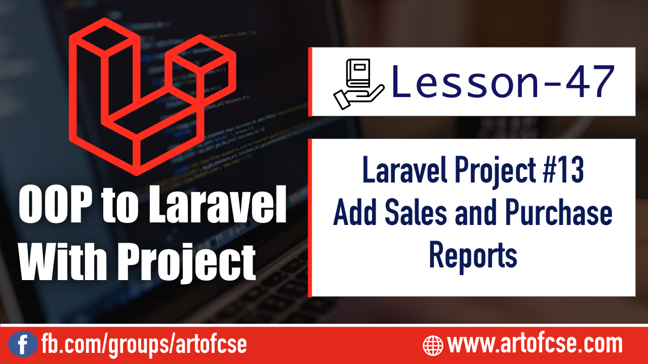 Laravel Project - Add Sales and Purchases Reports
