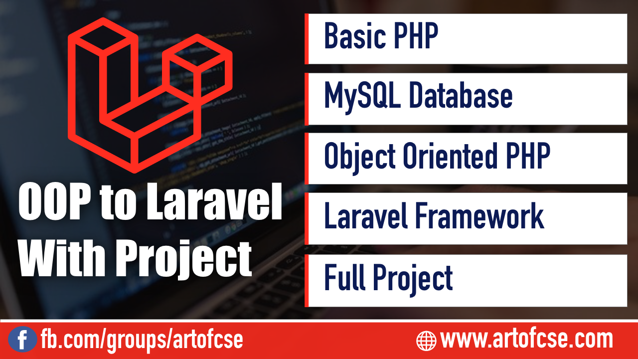 Basic PHP - OOP - Database and Laravel Framework